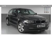 2008 BMW 118D SE 5 DOORS BLACK 6 SPEED MANUAL 123000 MILES