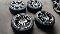 """18"""" RS4 reps by Hartmann with Michelin Xi2 225/45R18"""