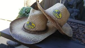 2 cowboy Carona hats cowboy Country Fest or Rodeo