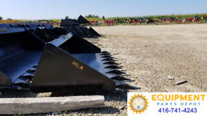 BUCKETS, FORKS, PLATES & ATTACHMENTS FOR HEAVY EQUIPMENT
