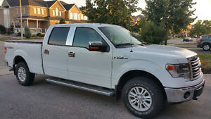 2013 FORD F-150 SUPERCREW 4X4/ NAVI/CHROME PKG, NICE VERY CLEAN