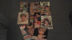 Collection de revues Princesse LADY DIANA ( 35 ) revues