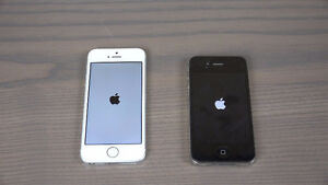 iphone 4 4s and 5s provider is Bell or Virgin One iphone telus