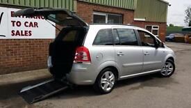 2011 Vauxhall Zafira CDTi Diesel Wheelchair Accessible Vehicle Car