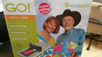 Accuquilt GO Fabric Cutter New