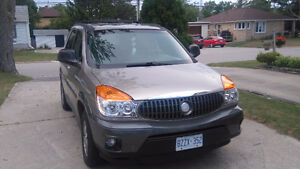 2002 Buick Rendezvous SUV, Crossover saftied