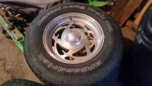 """UNIVERSAL 15"""" Eagle Alley Rims with BF Goodrich tires Kawartha Lakes Peterborough Area image 1"""