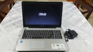 "ASUS Laptop VivoBook F555LA. 15.6"" Quad Core 2.1 GHz."