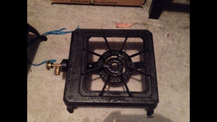 FREE DELIVERY BRAND NEW SINGLE METAL STOVE  $26.99