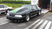 1989 mustang drag car  roller end of year sale