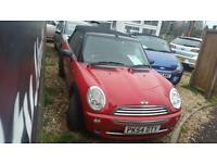 2004 stunning Mini 1.6 One convertible special mini livery edition