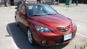 2006 mazda 3 -----   2.5 swap low km