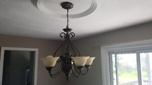 Very Good Condition Large Stylish Chandelier.