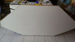 Island / Counter  Top - solid wood w/ formica top - BEST OFFER