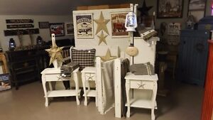 Handcrafted Deacon's Bench