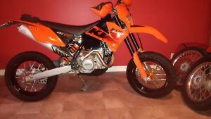 KTM 450 EXC - Supermoto and Dirt wheels