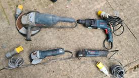 Bosch/makita 110v tools.