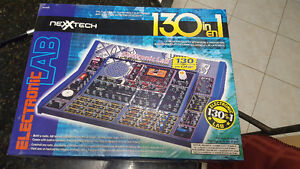 2 Kits - Electronic Lab (130) and Electronic Playground (50)