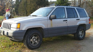 1997 Jeep Grand Cherokee SUV, Crossover