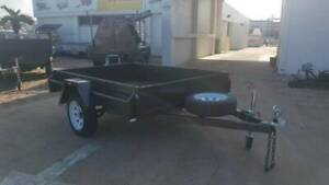 8x5  HEAVY DUTY | COMMERCIAL | SINGLE AXLE BOX TRAILER |  TRAILERS Ingham Hinchinbrook Area Preview