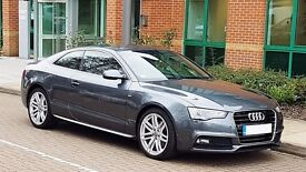 **AUDI A5 S-line coupe **65 plate **
