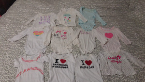 Baby clothing NB - 6 months