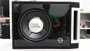 "12"" JBL Car Sub in Ported Bassworx Box"