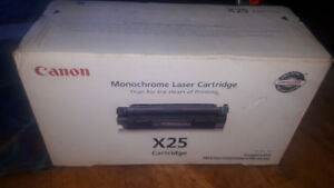 Brand New!  Cannon Monochrome Laser Cartridge x25