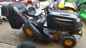 18.5 horse poulin pro lawn tractor 42 inch deck