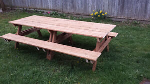PICNIC TABLES $ 160.00