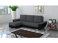 FLY, AMAZING SOFA BED - Black and Grey