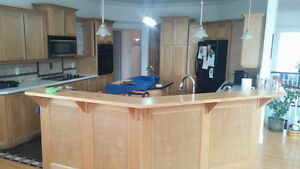 Kitchen cabinet refinishing , why replace when you can refinish St. John's Newfoundland image 5
