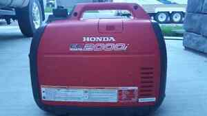 Mint condition honda eu2000i generator with parallel ports