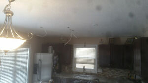 ceiling repairs and texture California ceilings Kitchener / Waterloo Kitchener Area image 6