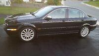 2007 Jaguar X-TYPE Black Sedan