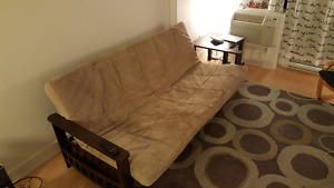 New Wooden couch/futon