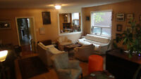 Shared Accommodation: 1200 sq. ft. Ground Floor Flat (2 BR)