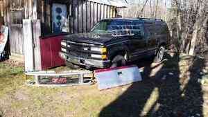 1995 GMC and chev truck parts