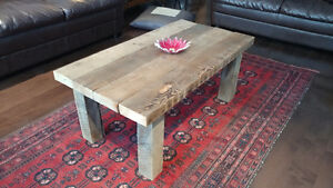 Reclaimed and salvaged solid barn wood coffee table Kitchener / Waterloo Kitchener Area image 6