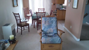 Beautiful Sofa and Rocking Chair- Excellent condition