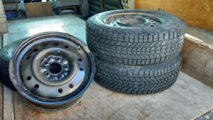 "4 Nissan 16"" steel rims $60.00"