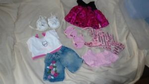 Build a Bear Lot of Clothing and shoes
