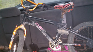 Kids stunt bike with pegs  delivery available