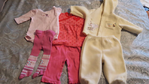 0-3months Baby Girl Outfits
