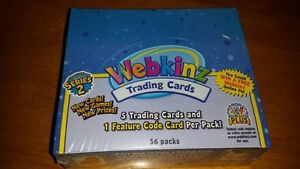 Webkinz Trading Cards Series 2 Box of 36 Packs