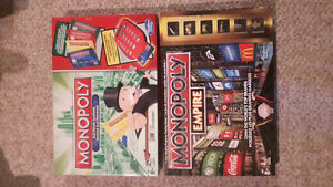 2 monopoly board games