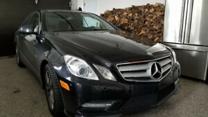 Mercedes E 350 4 matic coupe 2012