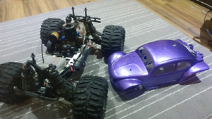 RC trucks cars