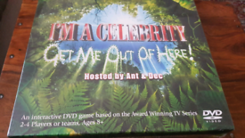 I'm A Celebrity Get Me Out Of Here DVD game brand new sealed