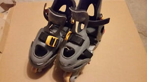 Over the shoe roller blade shoe size 1 to 4